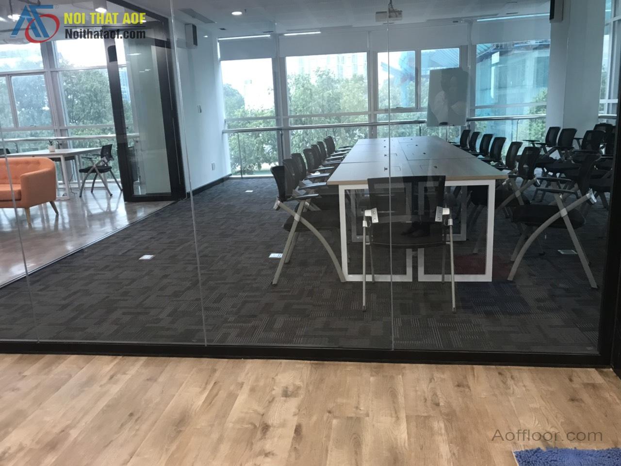 Sàn nhựa hèm khóa SPC và Sàn dán keo PVC vào thị trường cải thiện sàn là một xu hướng tất yếu!