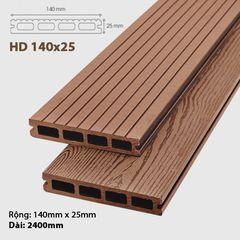 Sàn gỗ ngoài trời Awood -HD140 Brown