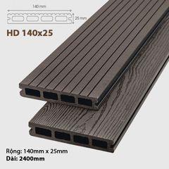 Sàn gỗ ngoài trời Awood -HD140 Socola
